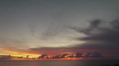 Bahamas Sunrise 1 Stock Footage