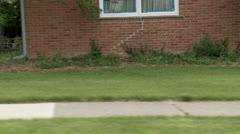sidewalk cycling 24 5s enters - stock footage