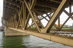 Bridge Underside - stock photo
