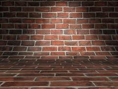 Bricks background - stock illustration