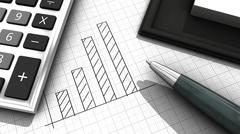Business stats Stock Illustration
