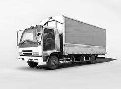 Cargo truck Stock Illustration
