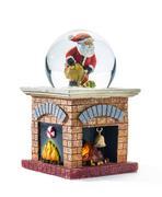 christmas snow globe - stock photo