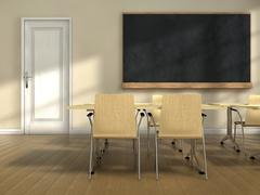 Stock Illustration of classroom