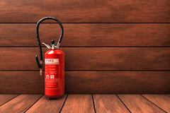 Stock Illustration of extinguisher