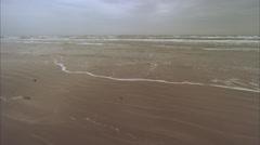 Beach,dolly,pov,Padre Island,Tx Stock Footage