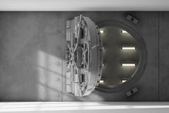 Vault interior Stock Illustration