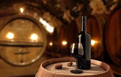 Stock Illustration of wine background