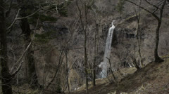 Nikko Waterfall 3 Stock Footage