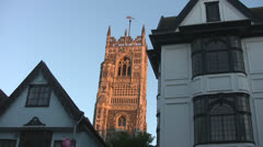St Lawrence Church Ipswich p216 Stock Footage
