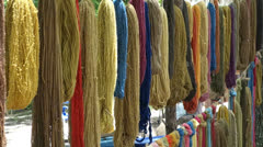 Natural colored dyes color Stock Footage