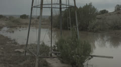 Tilt windmill 2 Stock Footage