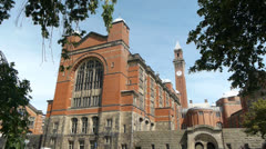 Birmingham University - The Great Hall. Stock Footage