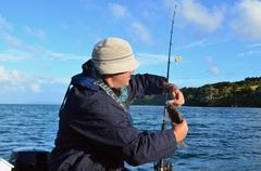 Fishing - watersport Stock Photos