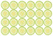 Stock Photo of cucumber slices background