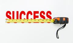 measure of success - stock illustration