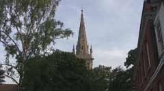 St Mary-le-Tower Church Ipswich p215 Stock Footage