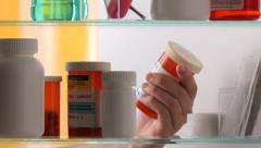 prescription drugs - stock footage