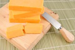 Cheddar cheese Stock Photos