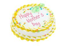 happy mother's day cake - stock photo