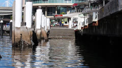 Darling Harbour Water view - stock footage