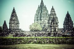 Stock Photo of hindu temple prambanan. indonesia, java, yogyakarta