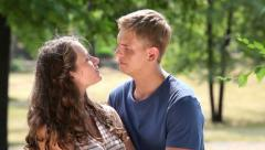 Summer together Stock Footage