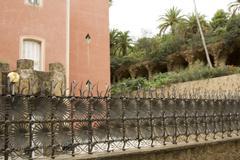 Park gaudi in barcelona Stock Photos