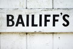 Bailiff's - stock photo
