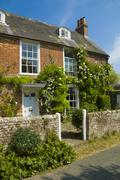 English cottage - stock photo