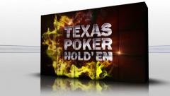 19 texas holed red cubes Stock Footage