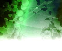 Green biological abstract background Stock Illustration