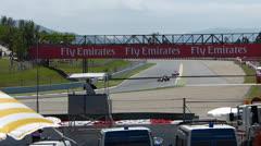 Formula 1 Race 2013 Stock Footage