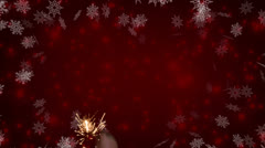 Merry christmas background HD - stock footage