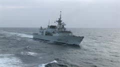 Military, Warship Stock Footage