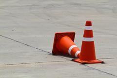 Traffic cone Stock Photos