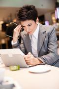 Upset businesswomen Stock Photos
