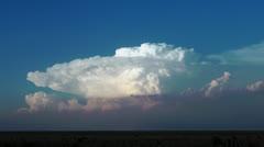 Kansas Storm Clouds Stock Footage