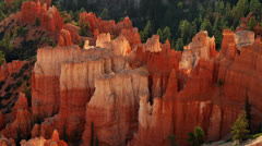 Time Lapse of Clouds passing over Bryce Canon - 4K - stock footage
