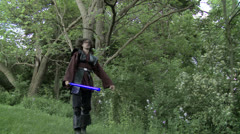 Light Sabers 1 RT Stock Footage