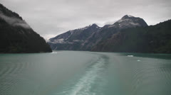 Alaska - Tracy Arm Fjord 08 Stock Footage