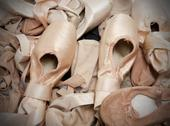 Stock Photo of ballet shoes or slippers