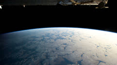 Term3 iss 20130103HighRes_fast Stock Footage