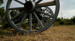 Canon Wheels Stock Footage