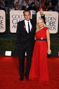 Amy poehler and will arnett.67th golden globe awards .held at the beverly hil Stock Photos