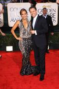 Carrie ann inaba and chris harrison.67th golden globe awards .held at the bev Stock Photos