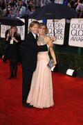 Felicity huffman and her husband william h macy.67th golden globe awards .hel Stock Photos