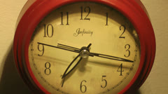 Clock time lapse (time passing) Stock Footage