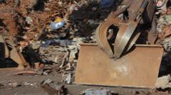 Metal scrap Stock Footage