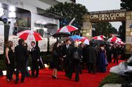 Stock Photo of atmosphere.67th golden globe awards rainy day.held at the beverly hilton.beve